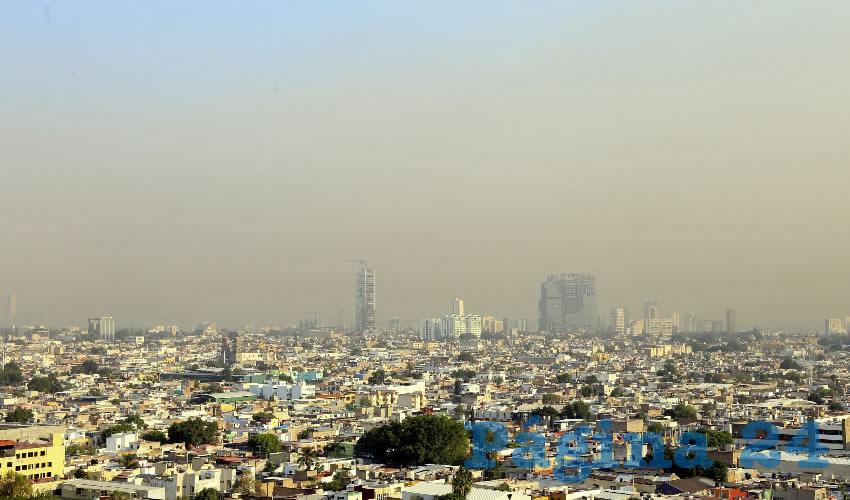 Aumento de temperatura y un medio ambiente contaminado son algunas de las repercusiones directas que generan los incendios forestales en la mancha urbana de Guadalajara/Foto: Cortesía
