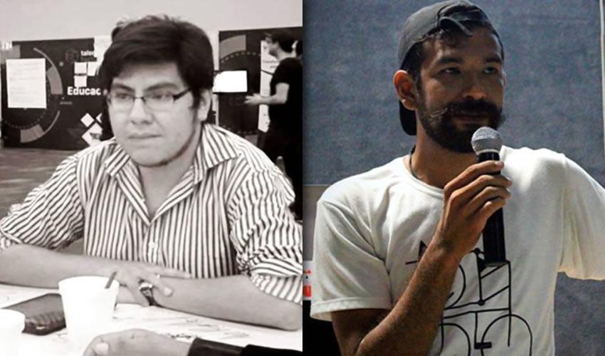 Adrián Esparza y Miguel Asa han construido su experiencia poética con medios efímeros, los cuales buscan brindar una experiencia distinta a los lectores/Fotos: Cortesía
