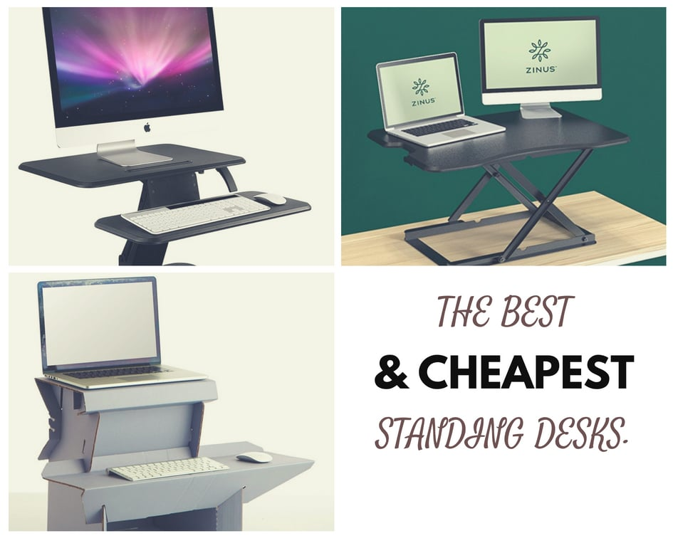 5 Cheapest Standing Desks that Everyone Can Afford