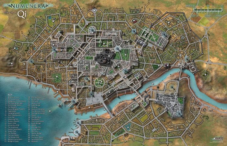 paizocom  Numenera RPG Map Pack 2