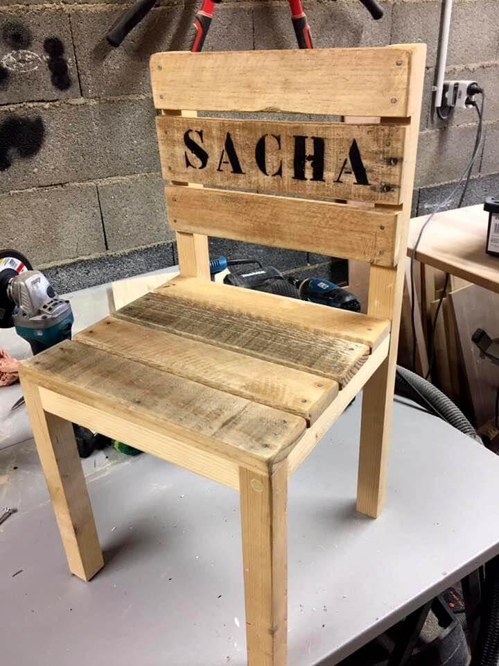 DIY Pallet Chair for Kids  Pallets Pro