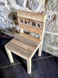 DIY Pallet Chair for Kid's - Pallets Pro