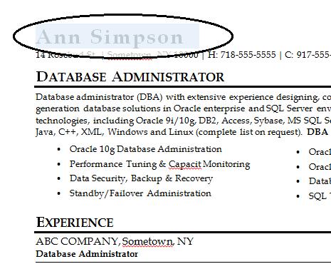 85 Fascinating Resume Template Word 2010