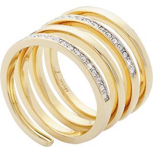 Ringe Gewickelter Ring gelbgold plattiert von Gab  Ty by Jana Ina  parfumdreams