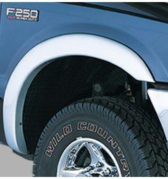 bushwacker fits f 250 super duty f 350 super duty 20504 02 street fender flares [ 1500 x 859 Pixel ]