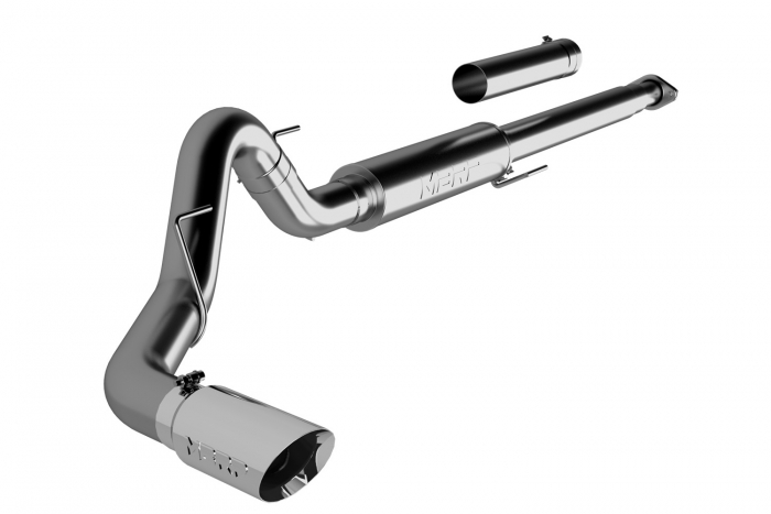 mbrp pro series cat back exhaust system for 2015 2020 ford f 150 mbr194729