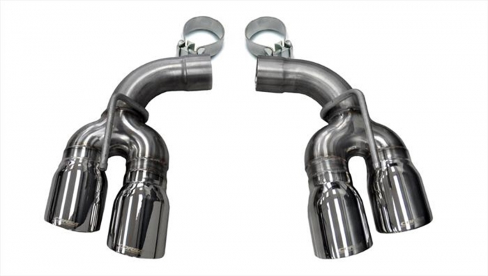 corsa exhaust tailpipe tips