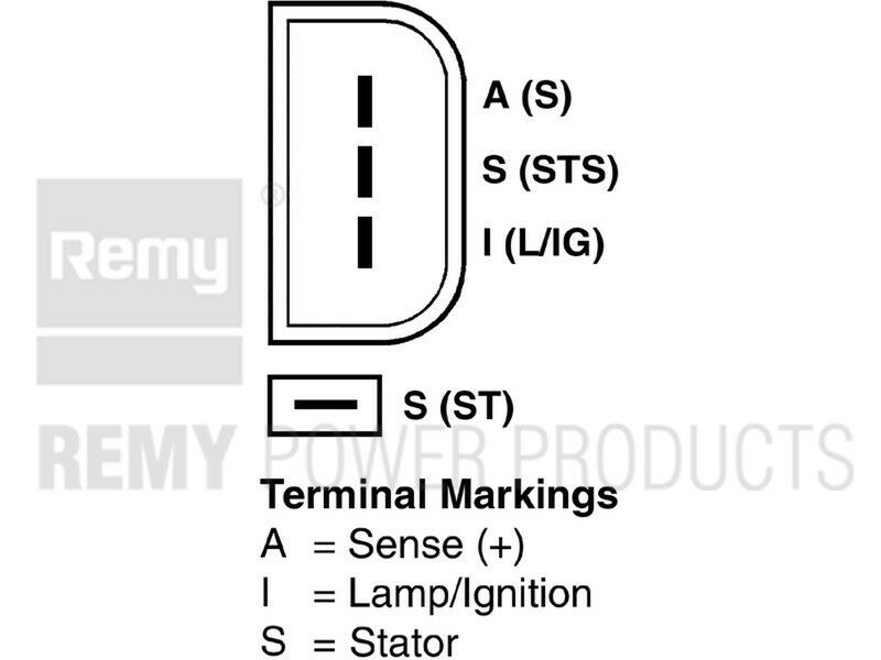 Alternator-Premium Remy 23793 Reman fits 05-08 Ford F-350