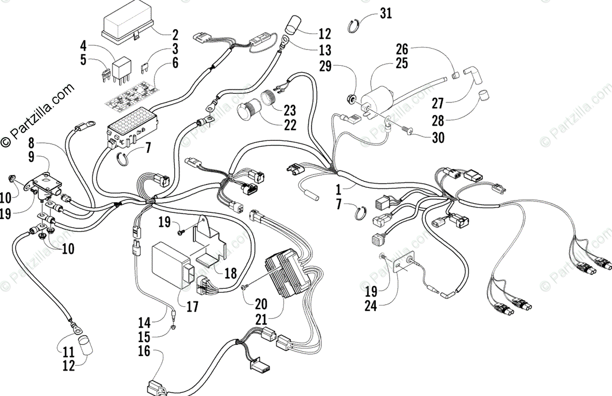 [DIAGRAM] 2014 Arctic Catplete Factory Snowmobile Wiring