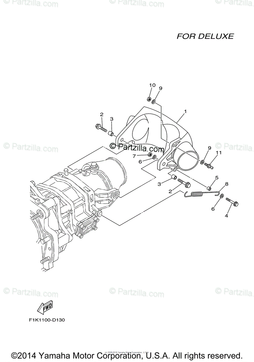 Yamaha Waverunner 2006 OEM Parts Diagram for Jet Unit 3