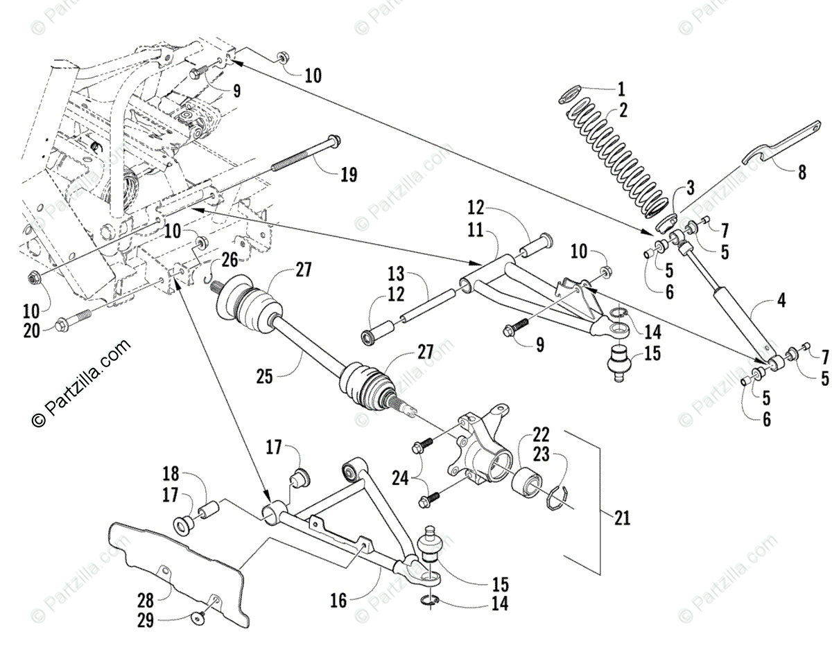 2008 Arctic Cat Prowler 650 Xt Electrical Wiring Diagram