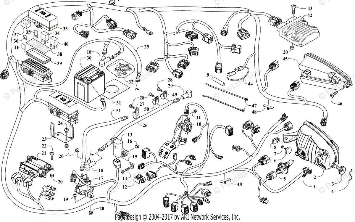 1988 Arctic Cat Wildcat Snowmobile Wiring Diagram FULL HD
