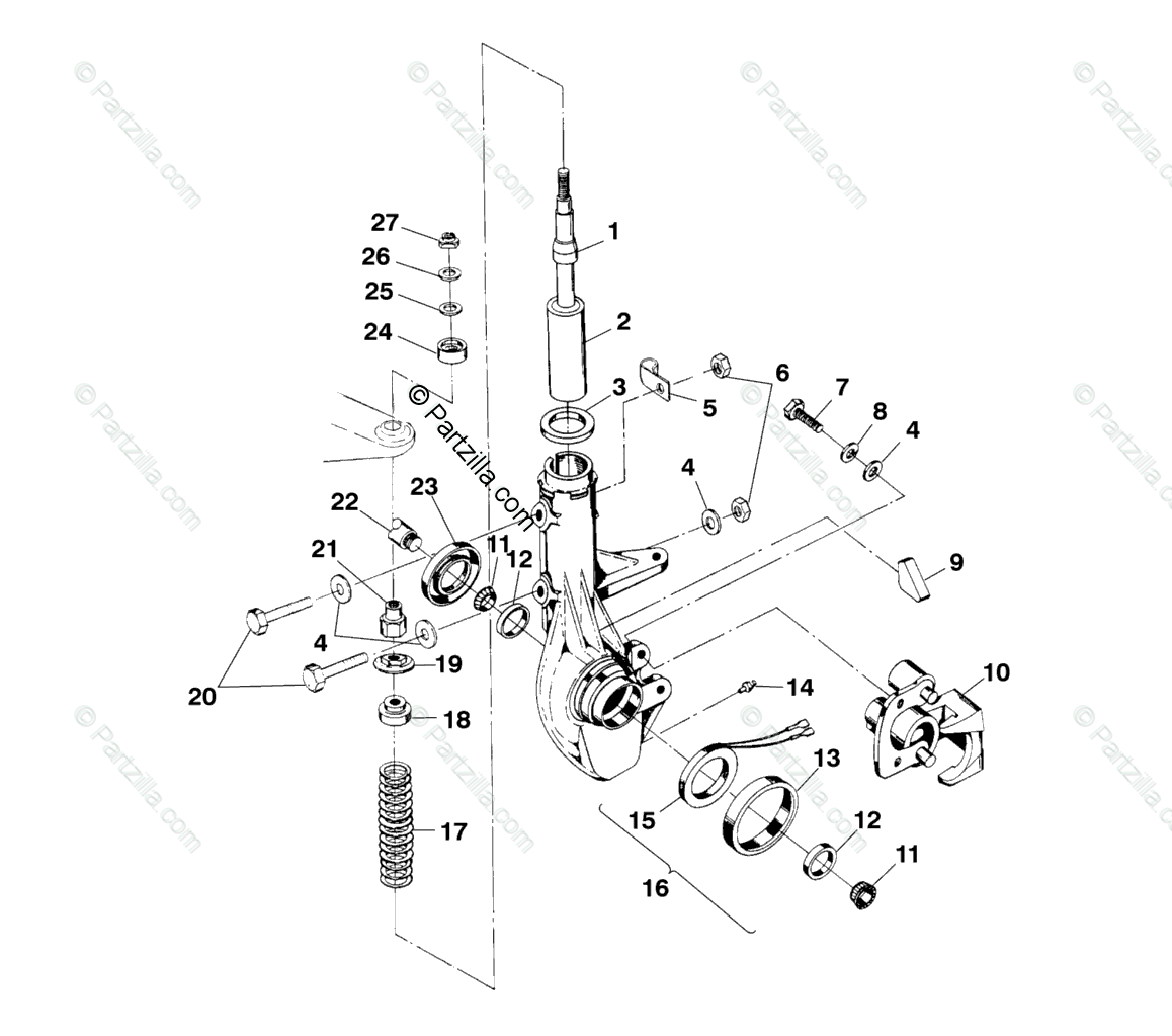 Polaris 500 Schematic