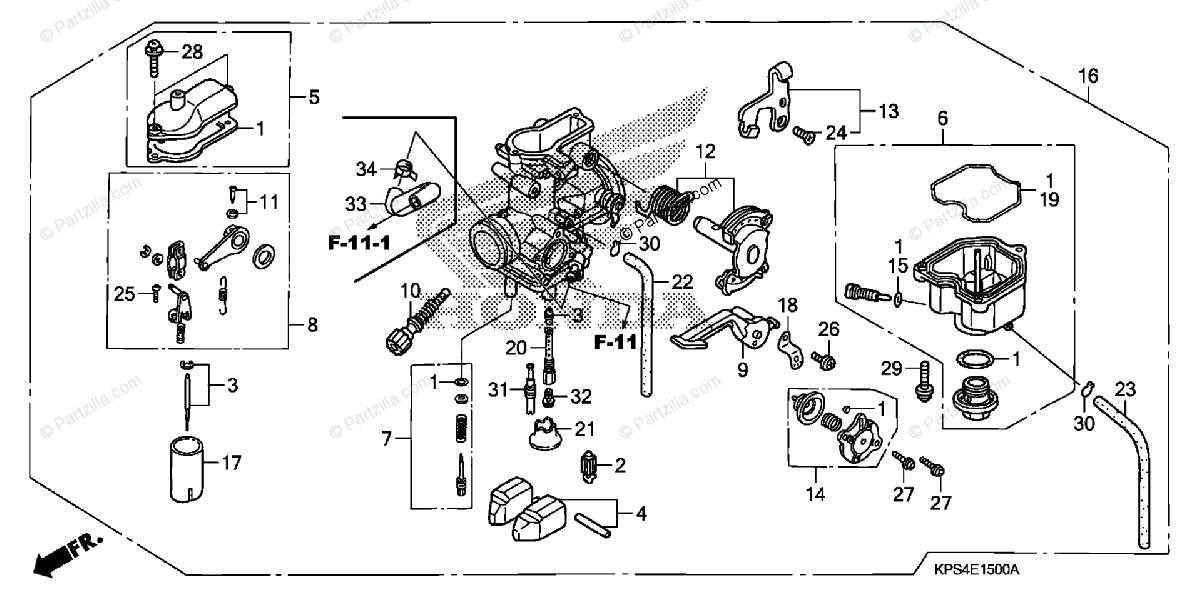 Honda Crf 50 Carburetor Diagram. Honda. Auto Wiring Diagram