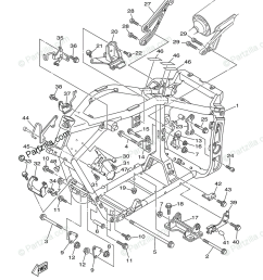 yamaha motorcycle 2003 oem parts diagram for frame partzilla com [ 842 x 1200 Pixel ]