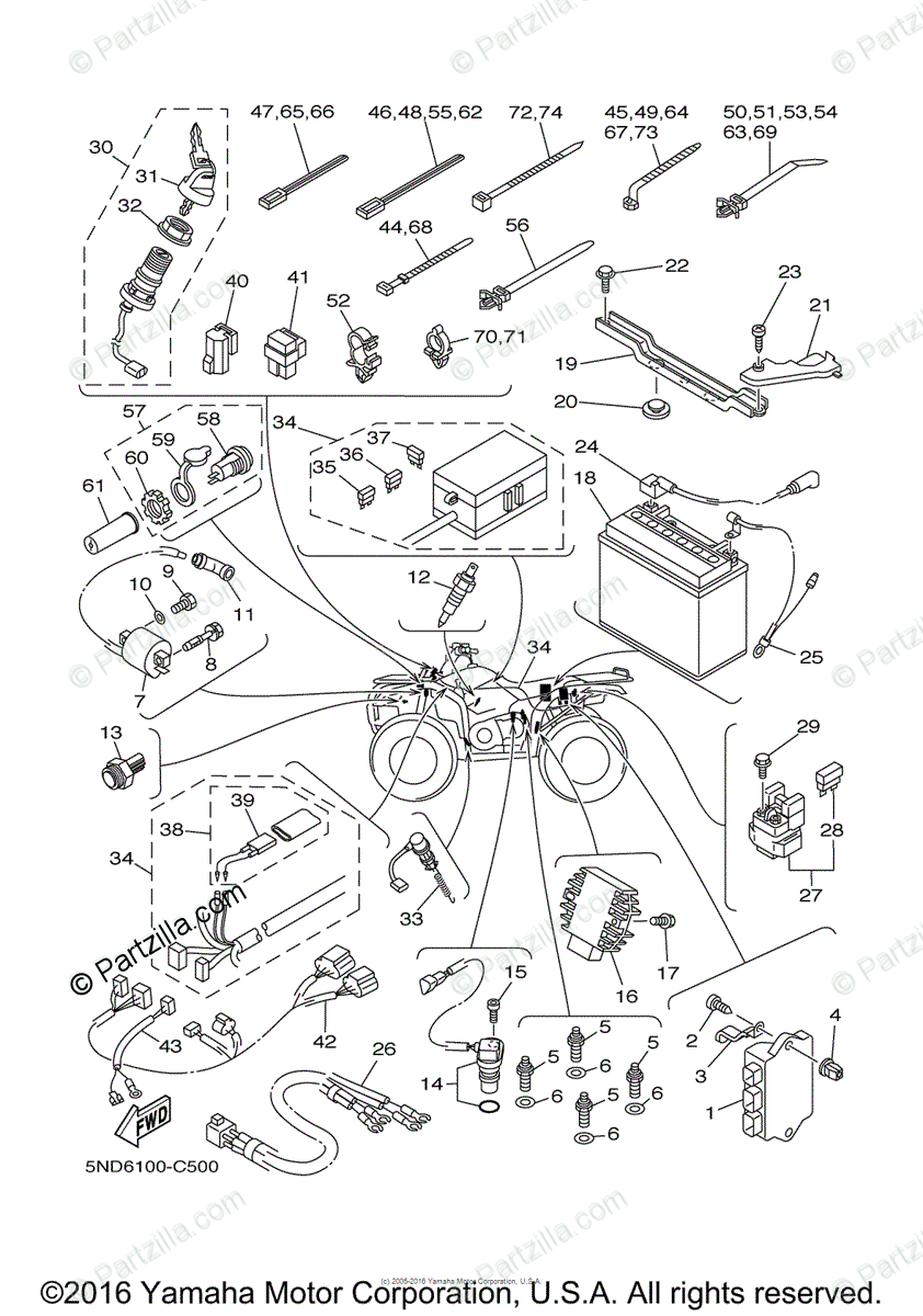 [DIAGRAM] 1981 Yamaha 450 Wiring Diagram FULL Version HD