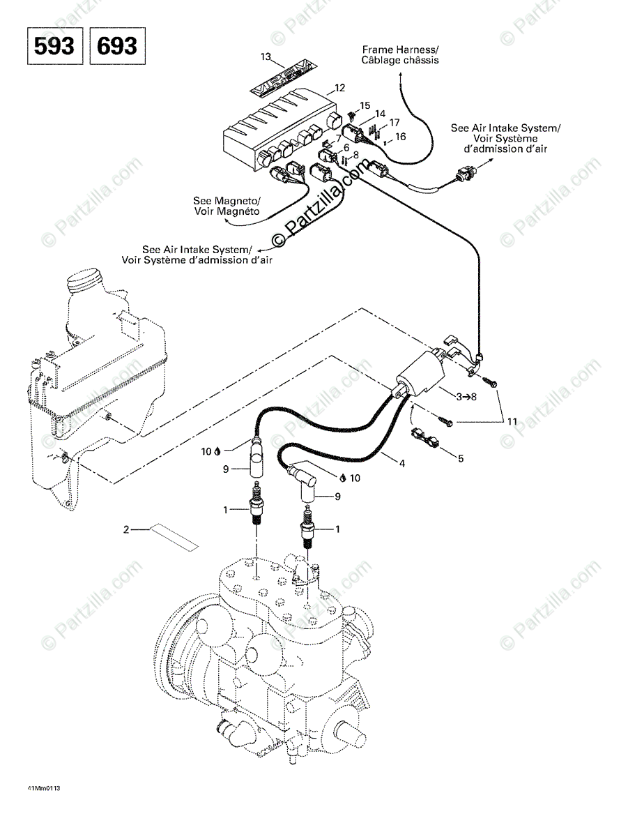 2001 Ski Doo Touring Wiring Diagram. 2004 ski doo rev