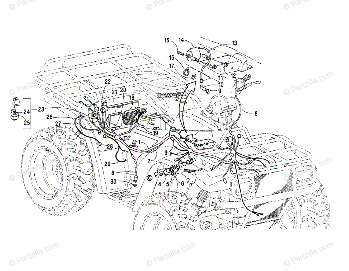 [DIAGRAM] 1995 Polaris 300 4x4 Wiring Diagram FULL Version