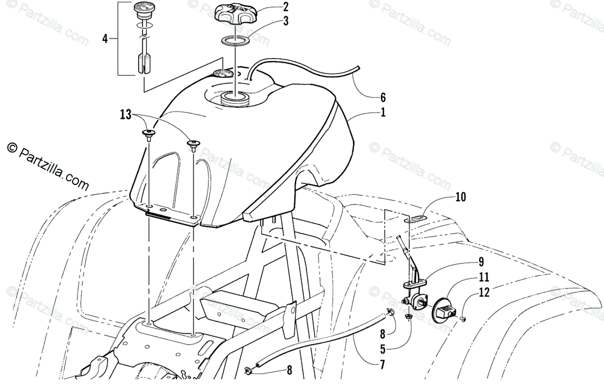 Arctic Cat Atv Model Identification