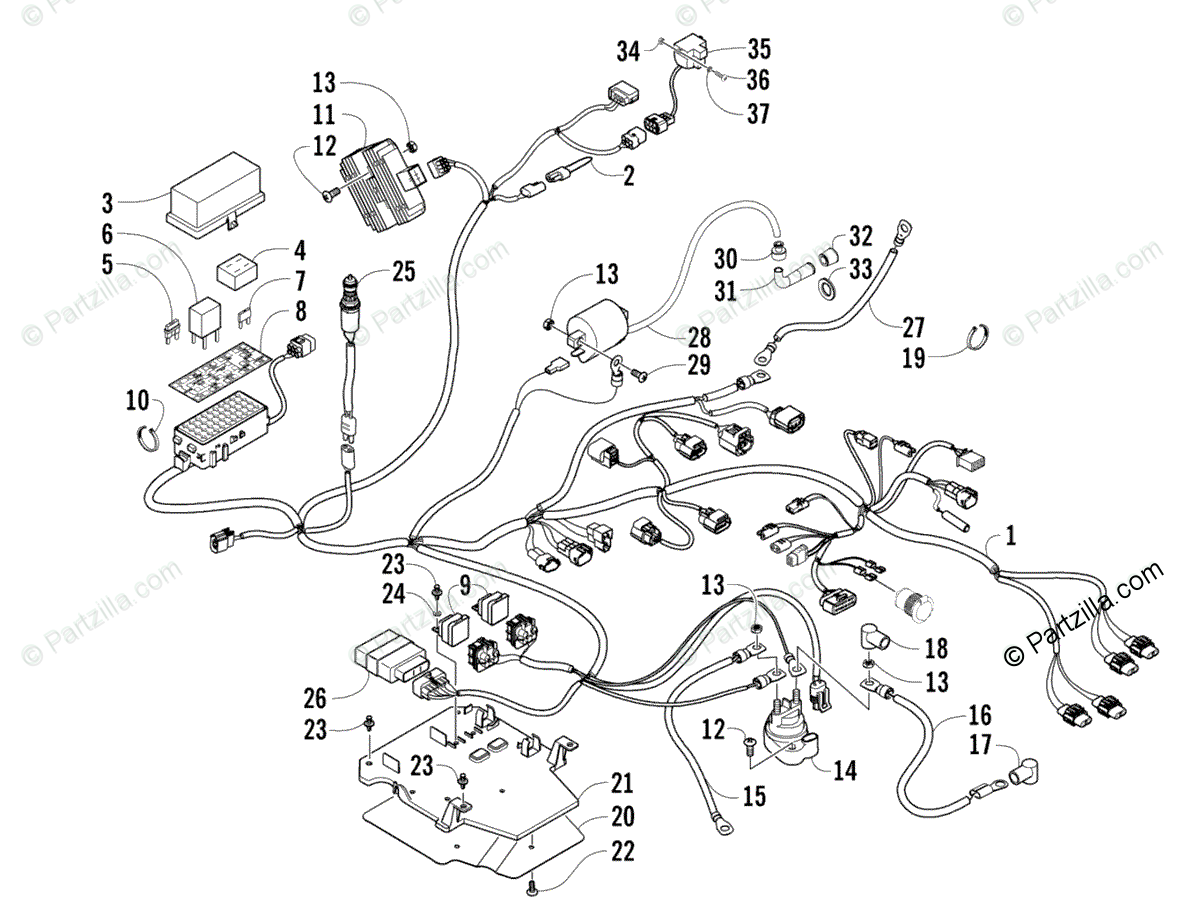 [DIAGRAM] Arctic Cat 400 Atv Wiring Diagram For FULL