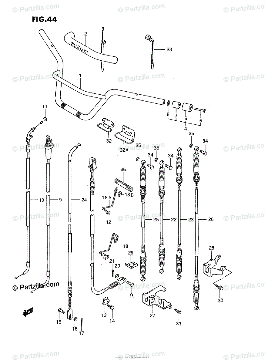 Suzuki King Quad Parts Diagram. Suzuki. Wiring Diagram Images