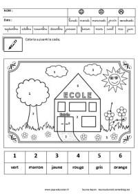 Coloriage Moyenne Section Pdf Apprendre A Dessiner
