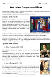 Le Temps Des Reines Cm1 : temps, reines, Temps, Primaire, Exercice, évaluation, Révision, Leçon, Education