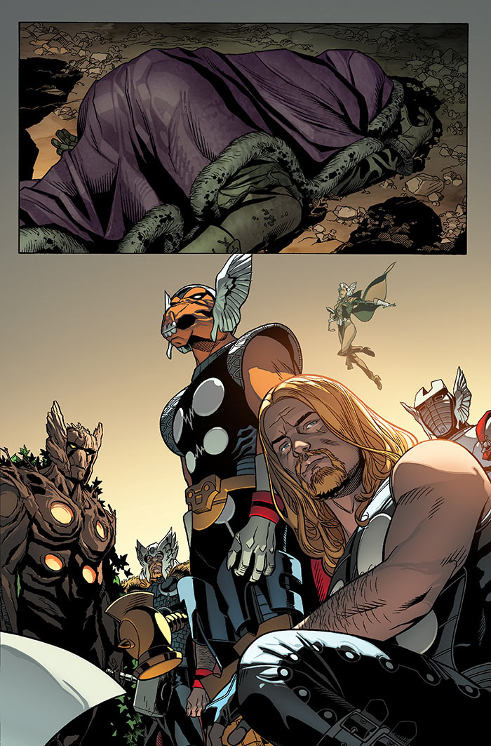 Thors by Jason Aaron  Chris Sprouse  Comics  Reviews  Paste