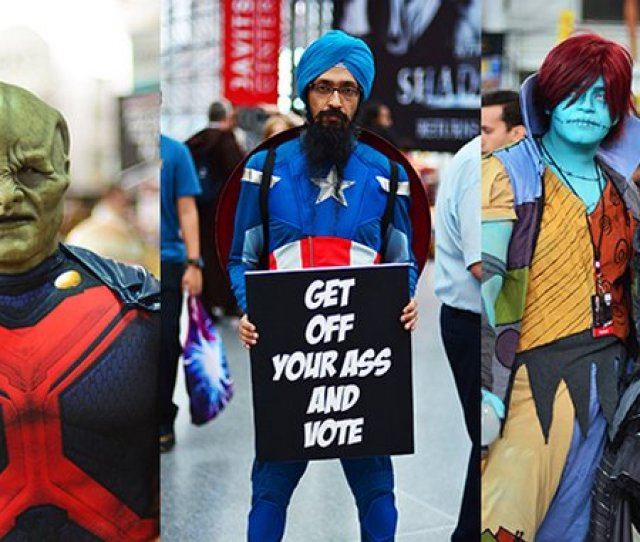 The Best Cosplay Of New York Comic Con Part Ii
