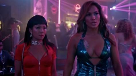 Constance Wu & Jennifer Lopez in Hustlers