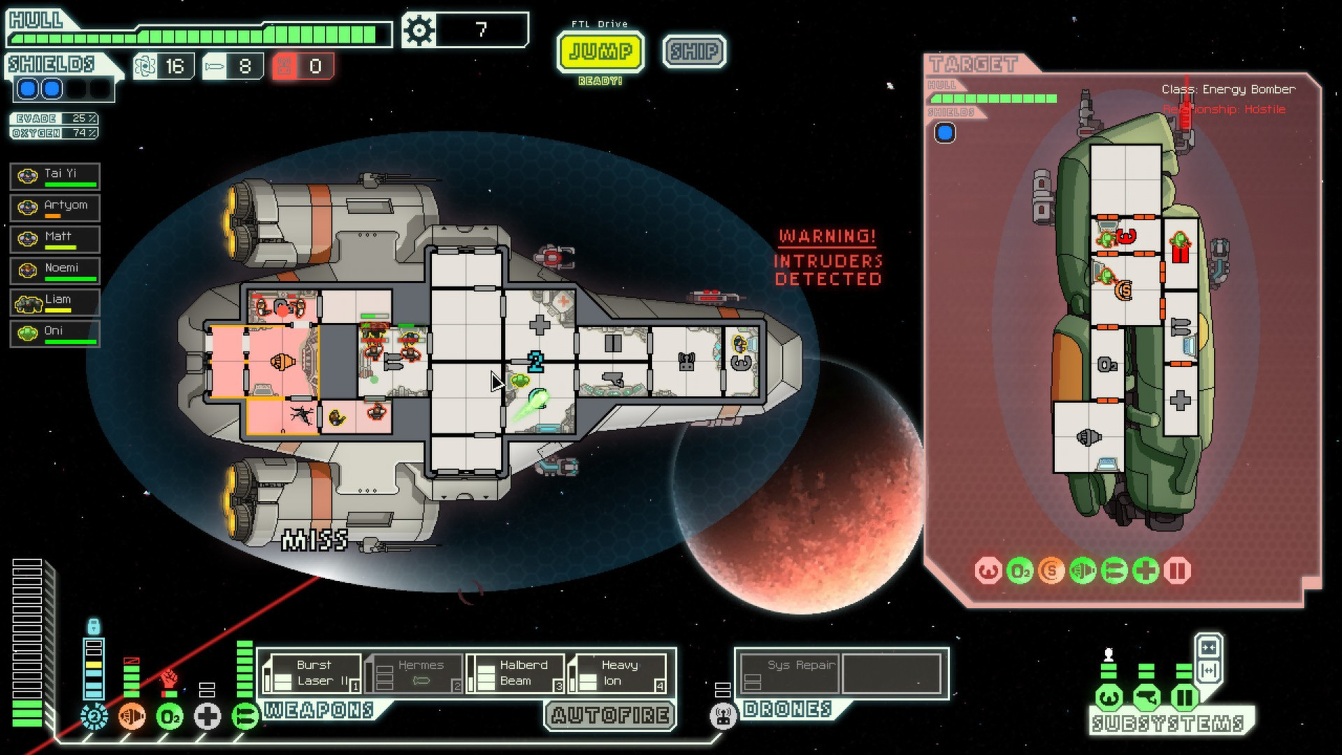 FTL: Faster Than Light Kestrel