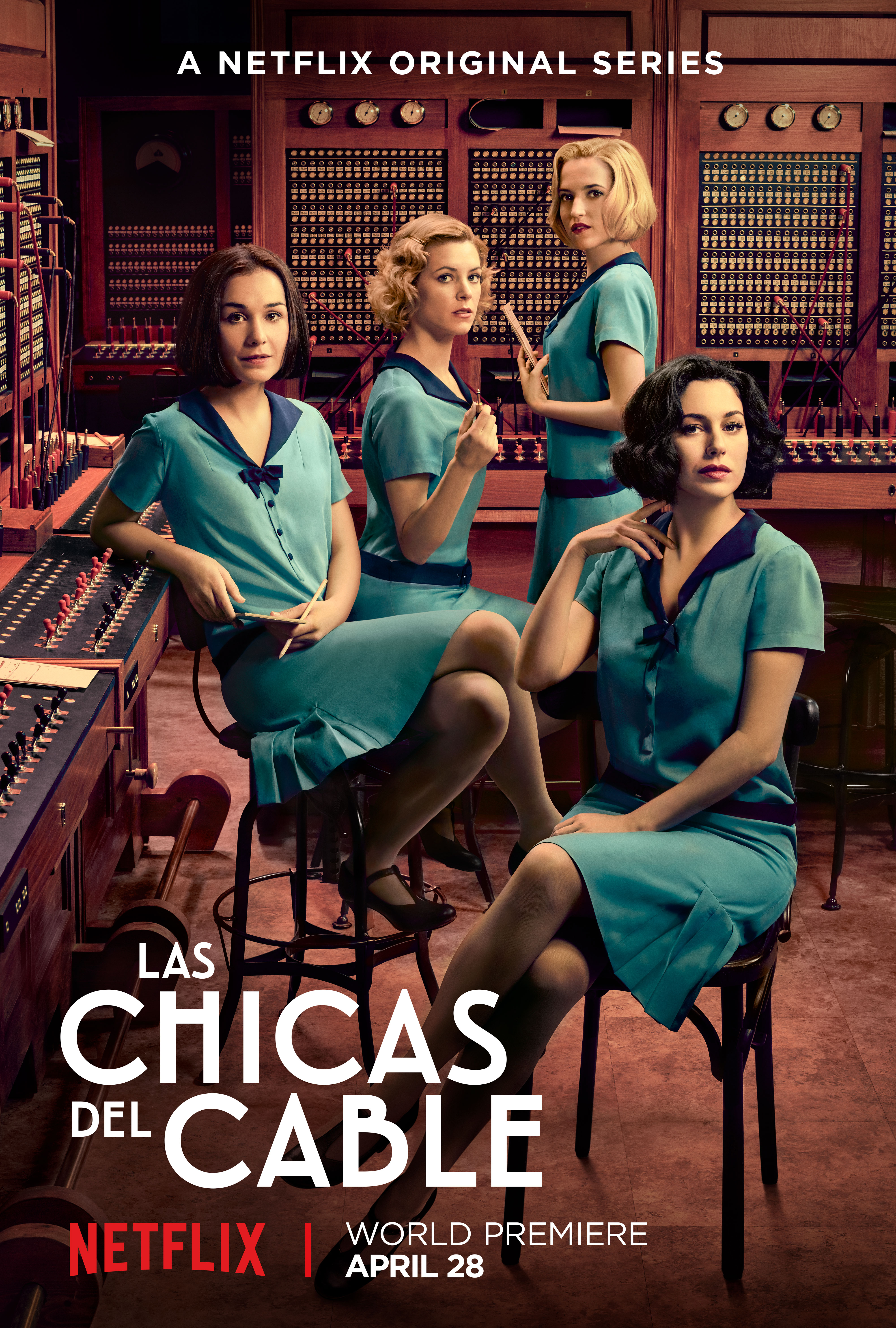 Watch the Trailer for Netflix's First Spanish Original Drama. Cable Girls :: TV :: Video :: Netflix :: Paste