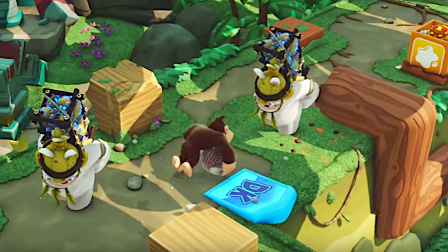 Mario Rabbids Kingdom Battle Is About To Get Tropical In Donkey Kong Adventure Expansion Paste