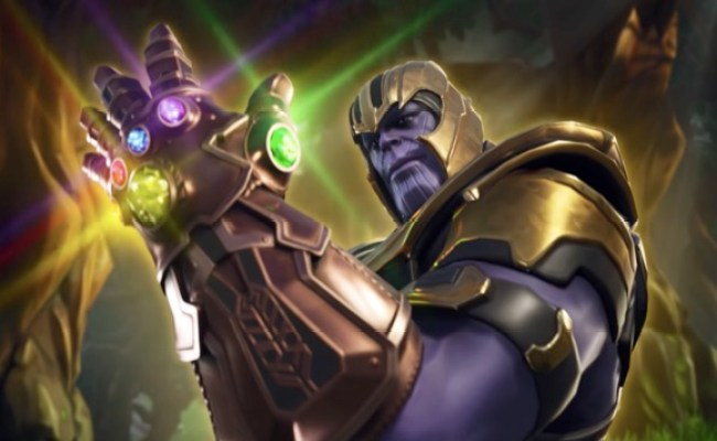 Thanos Drops Into Fortnite For Infinity War Crossover