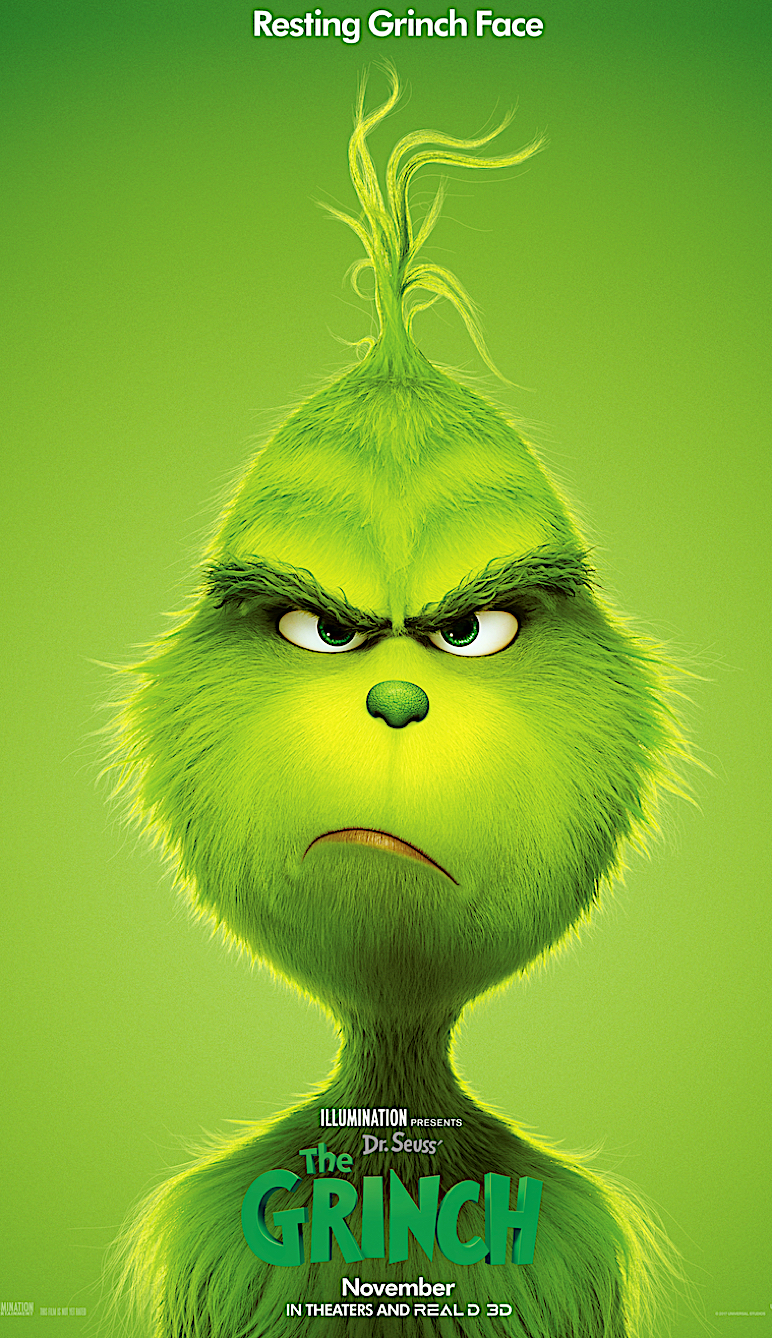 Universal Pictures The Grinch Gets New Trailer Poster