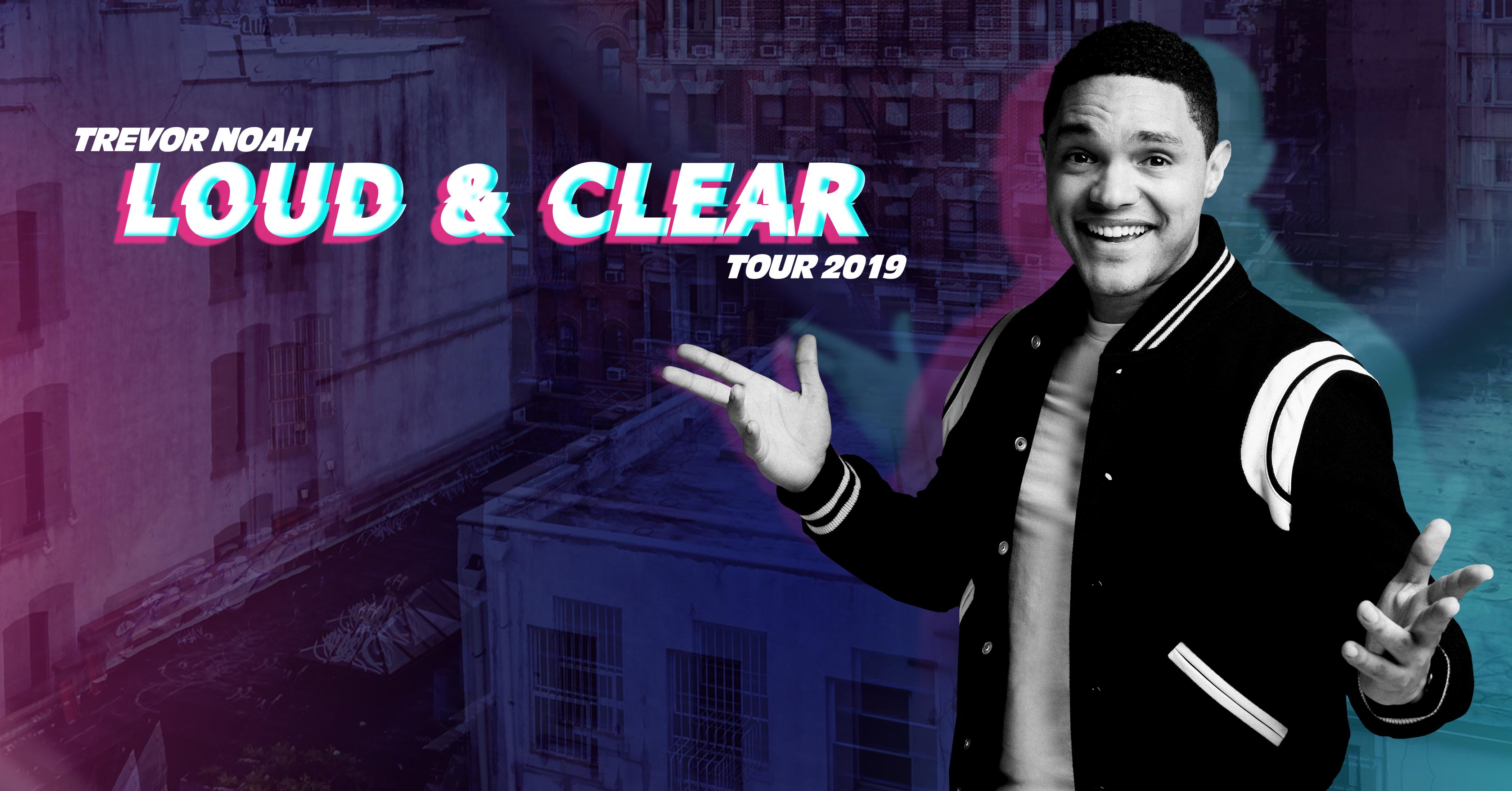 Trevor Noah Announces 2019 Arena Tour of North America
