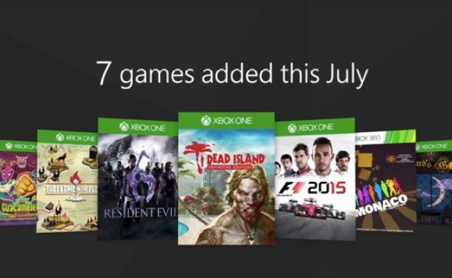 Here S What S Coming To Xbox Games Pass In July Games
