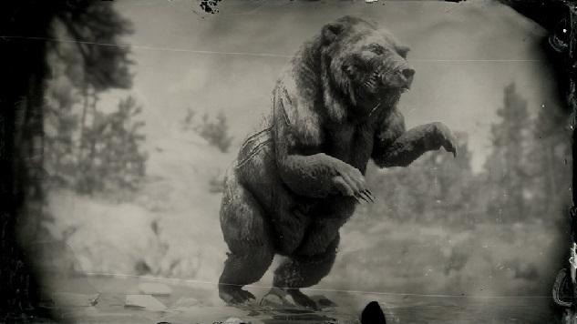 Red dead redemption 2 legendary Animals Bear