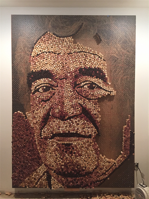 Wine Becomes Art The Cork Art of Scott Gundersen  Drink