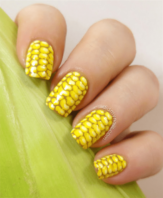Junk Food Nail Decals Art 5 February Paste Gallery Foodfashion