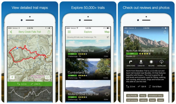 The 10 Best Hiking Apps for iOS :: Tech :: Galleries ...
