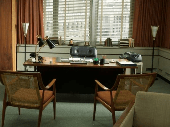 blue green chair wheelchair jump goes wrong our 15 favorite mad men props on ebay :: culture paste