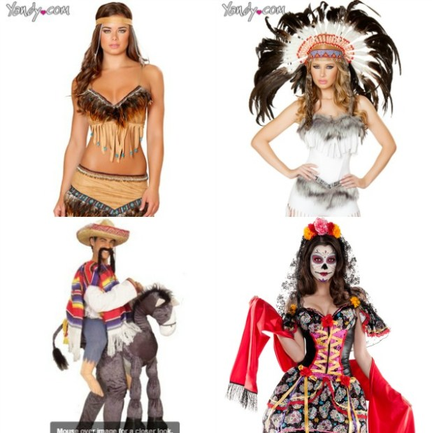 Cultural Appropriation Halloween Costumes Cartoonview