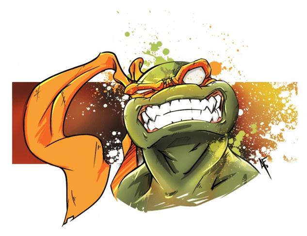 Cute Stitch On Side Wallpaper Awesome Teenage Mutant Ninja Turtles Fan Art Paste