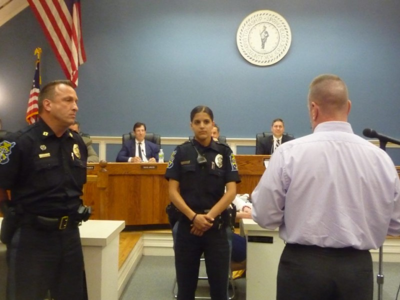 Springfield Firefighters Police Officers Honored for