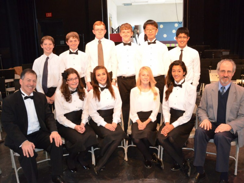 10 Benicia Middle School Band Members Get Big Honor