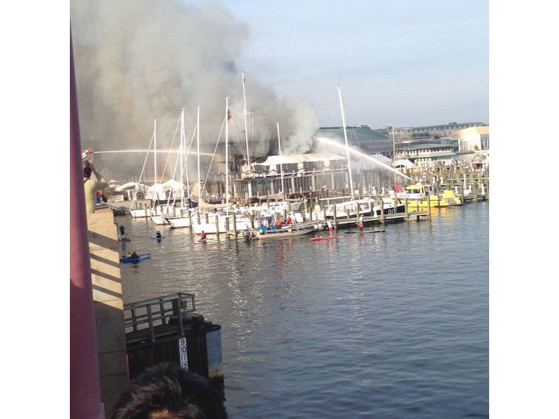 Historic Annapolis Yacht Club Struck By Massive Fire Patch