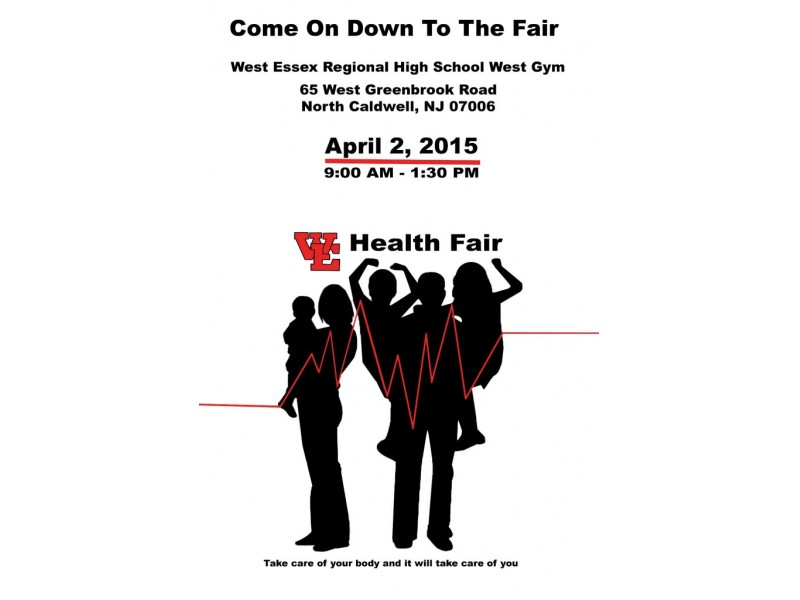 West Essex Health Fair Will Feature Information Tables
