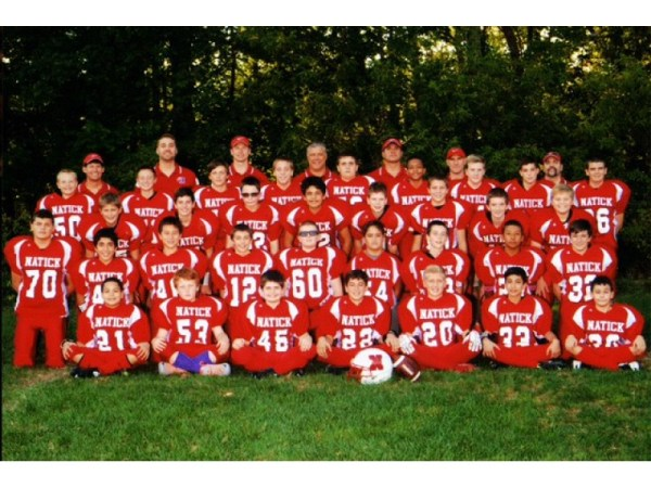 Natick Jr Redhawks39 7th Grade Football Team in the State