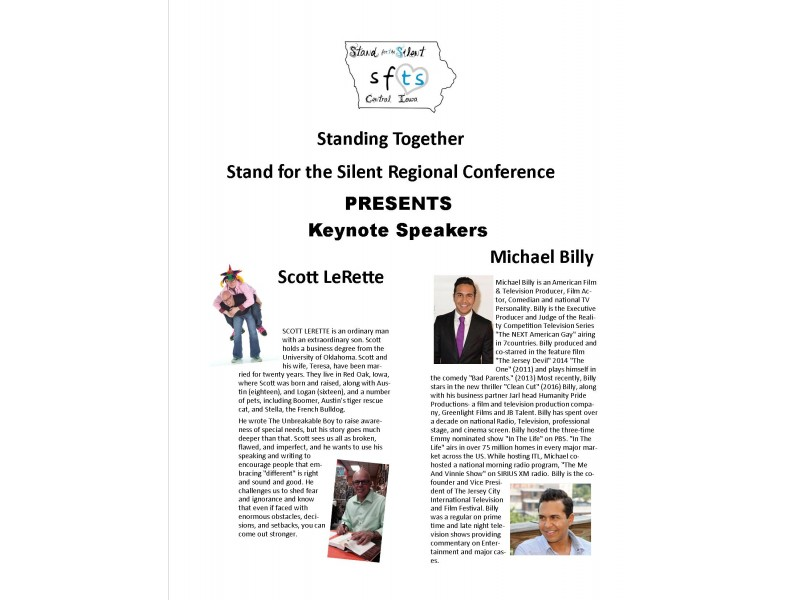 Antibullying Conference hosted by Stand for the Silent